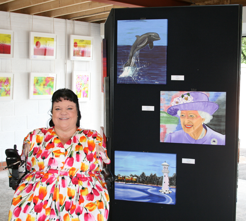 An Open Studio Exhibition of her Artwork in support of CRY