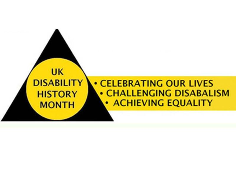 UK Disability History Month 22nd November - 22nd December each year 2011