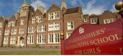 INSPIRATIONAL SPEAKING EVENT AT HABERDASHERS' MONMOUTH SCHOOL FOR GIRLS