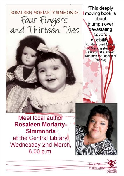 Meet Local Author - Rosaleen Moriarty Simmonds