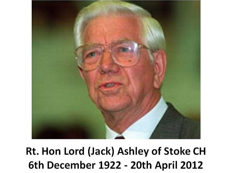 Lord Jack Ashley