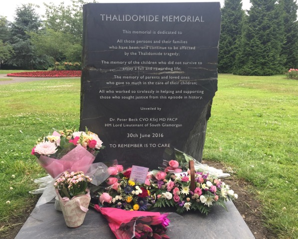 THALIDOMIDE MEMORIAL FIRST ANNIVERSARY